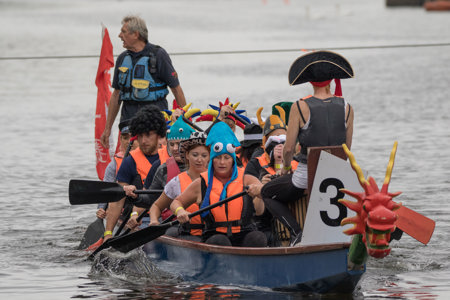 One of our Exeter Dragon Boat Festival teams in 2017