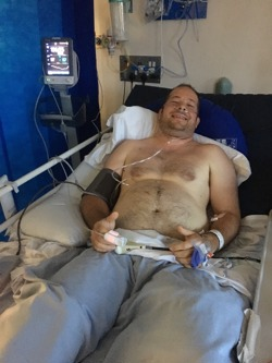 Philip in recovery in hospital following his accident