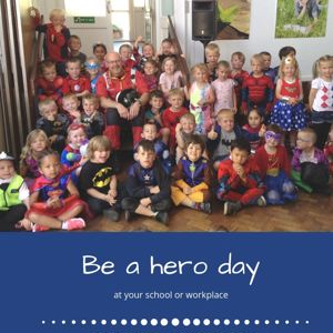Redhills Students dress up for Be a Hero day