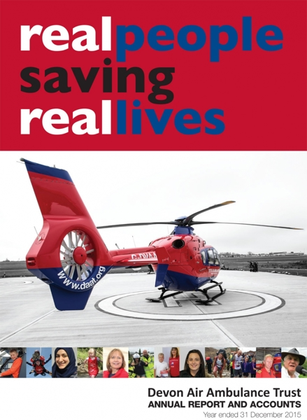 Click here to download the Devon Air Ambulance 2015 Annual Report