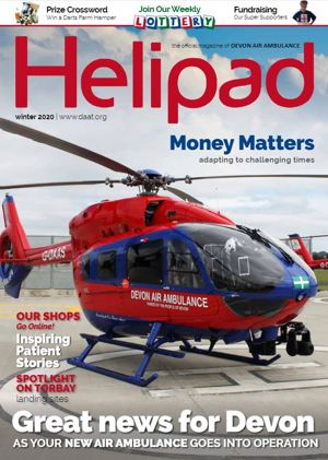 Helipad Winter 2020 cover