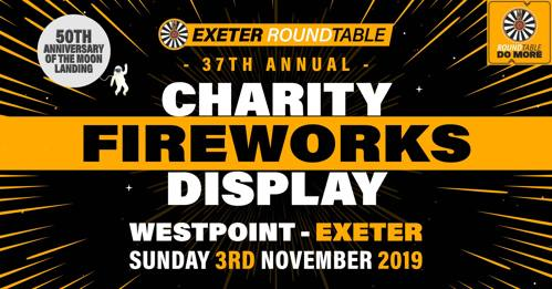 Exeter Round Table Fireworks 3rd November 2019
