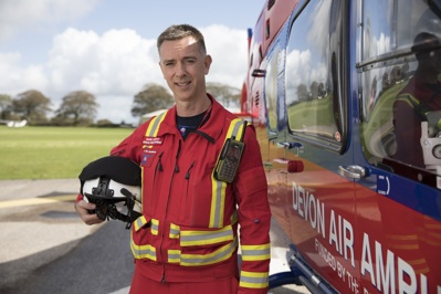 Critical Care Paramedic Mark Hawley