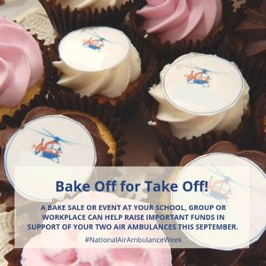 Bake Off for Take off cupcakes