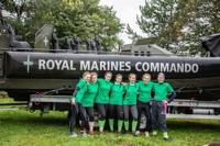 commando challenge entrants at the Event Village in 2018
