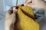 Get busy with a knit-a-thon or draw-a-thon