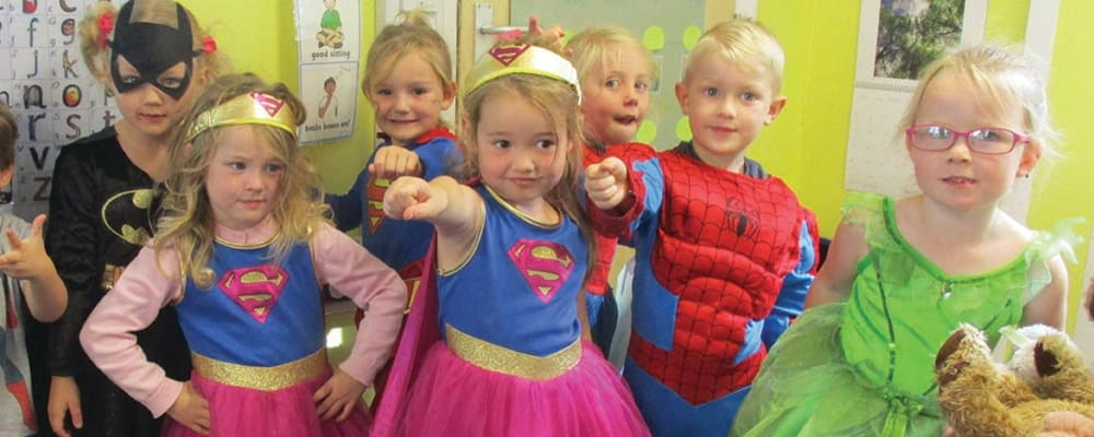 Southmead Primary on Be a Hero day