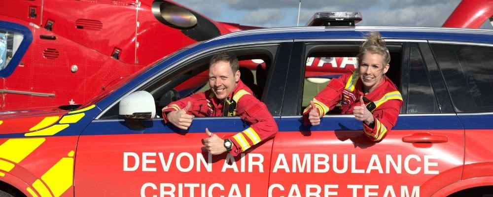 Devon Air Ambulance signs up to 'Show The Salary'
