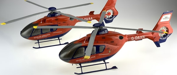 Bravo Delta Model Makers have created some stunning models of our new helicopter