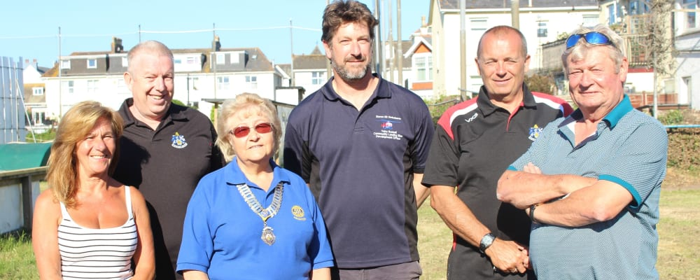 Night Landing Site for Devon Air Ambulance established at Paignton Rugby Club