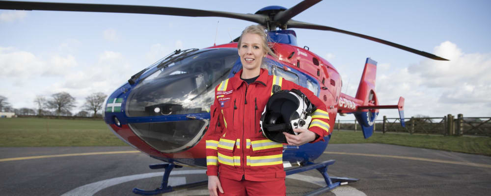 Jess Trainee Specialist Paramedic in Critical Care