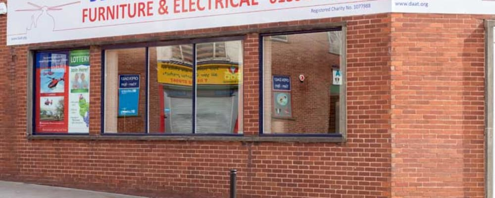 Exeter Furniture & Electrical shop exterior