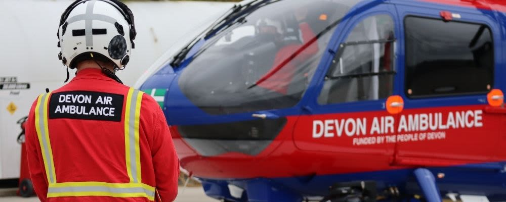 Paramedic, Lee, shares his account of our new heli's benefits