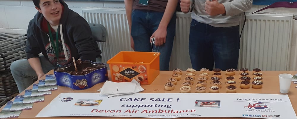 Naughty but nice - Exmouth Community College raises funds with bake sale