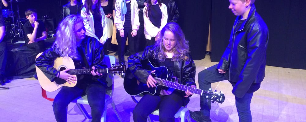 Teign School makes a musical fundraising effort