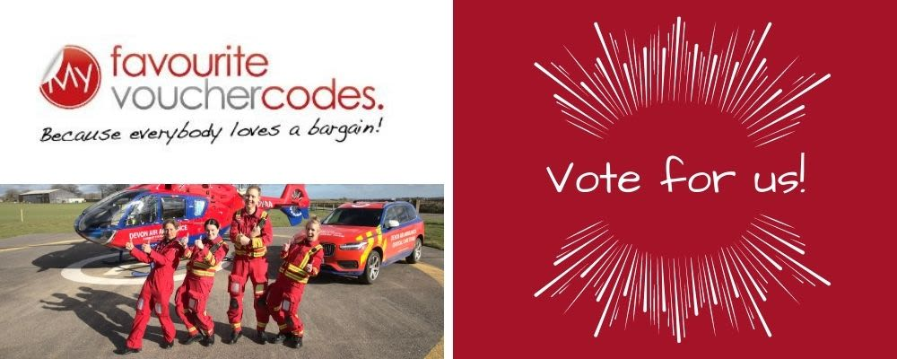Cast your vote to give Devon Air Ambulance a boost