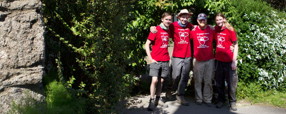 Four brothers walk 200 miles in memory of their brother