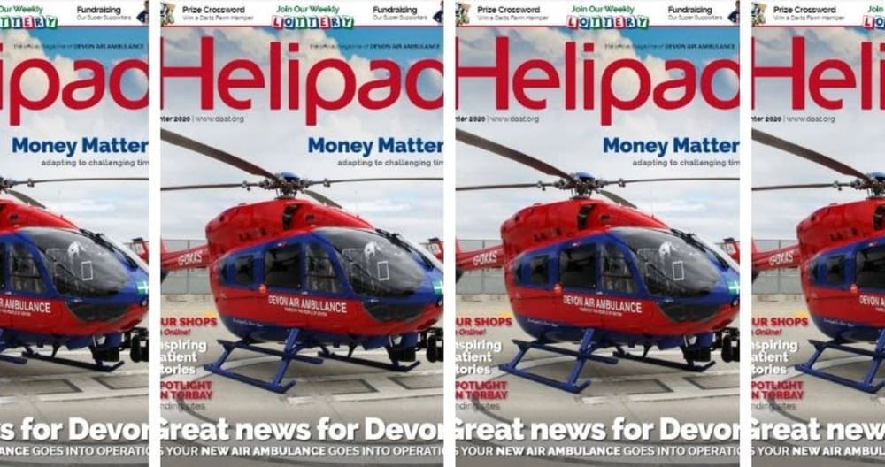 Get your copy of Helipad Magazine