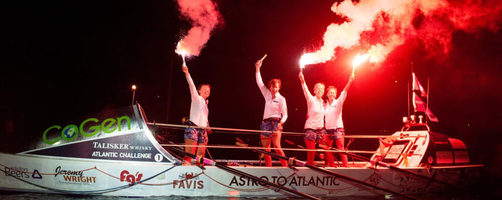 4-woman rowing team successfully tackles the Atlantic