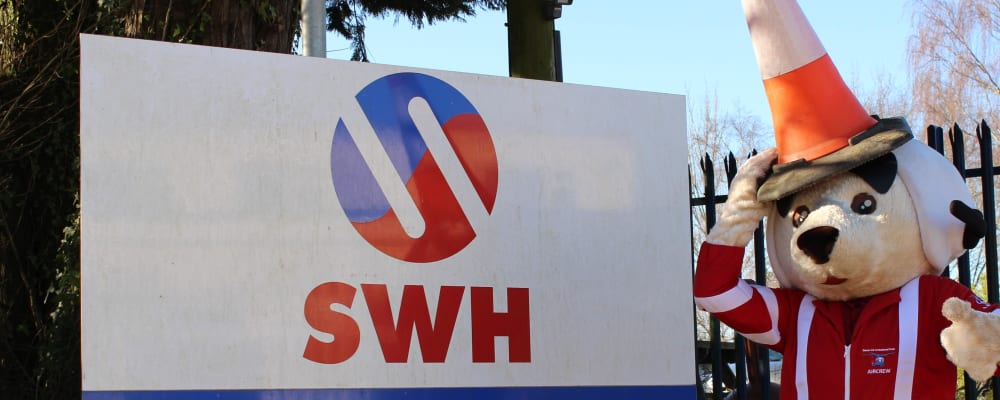 South West Highways' record donation