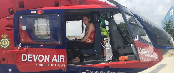 Future paramedic, Jas, shares her thoughts on her work experience